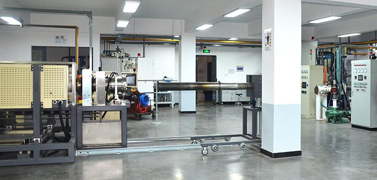 稀土永磁材料国家重点实验室<br>试验中心一角